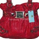 Kathy Van Zeeland PEPPER CROCO FIVE Belt Shopper.Bag