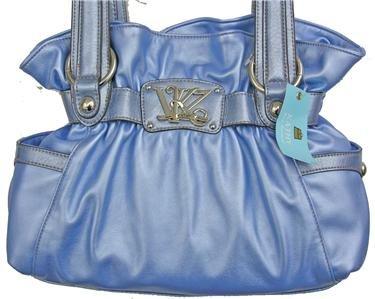 Kathy Van Zeeland ORCHID Triple Play Belt Shopper NWT