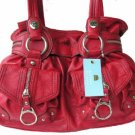 Kathy Van Zeeland RED PEPPER ZIP CODE Belt Shopper Bag