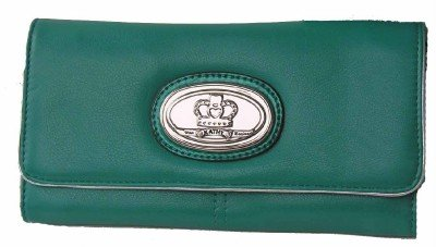 Kathy Van Zeeland Aruba Blue Goldie Locks Wallet NWT