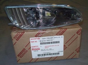 2005 Lexus RX330 Used OEM Right Passengers side Fog Lamp with Bulb