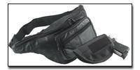 Genuine Leather Gun Holder Belt Bag