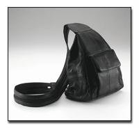 Leather Hobo Sling/Backpack Purse by Navarre Leather Company.