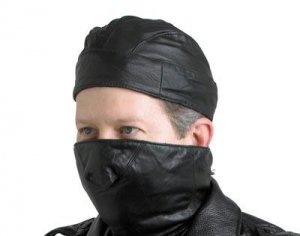Motorcycle Mask and Skull Cap Set