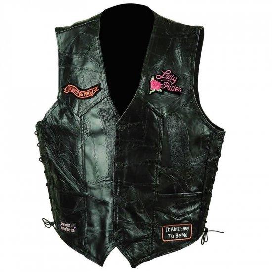 Ladies Patch Vest