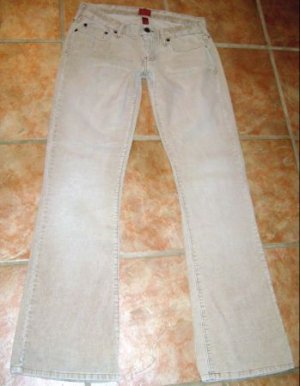 ABERCROMBIE & FITCH sz4 Stretch Flare Tan Cord Pants
