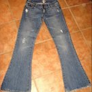 Abercrombie~16r(0r)~Distress/Destroyed~FLARE~LR~JEANS~