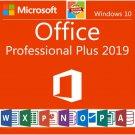 Microsoft Office 2019 ProPlus Retail Key Lifetime 32/64 Bit Genuine Key- Phone Activation