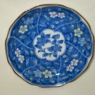 "Blue and White Plate fr. Japan- Hand-Painted Fine Bone China, 4 3/4"" X 4 3/4"""