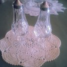 """Waterford Lismore Crystal S/P Shaker Set - 6 1/4"""" Tall"""