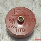 LCC 20 kV 1000pF HTD / # T 2929