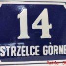 Vintage Polish Table Strzelce Górne / # J 1037