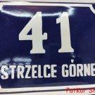 Vintage Polish Table Strzelce Górne / # J 1038