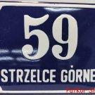 Vintage Polish Table Strzelce Górne / # J 1062