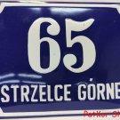 Vintage Polish Table Strzelce Górne / # J 1063