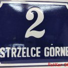 Vintage Polish Table Strzelce Górne / # J 1069
