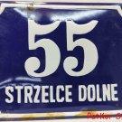 Vintage Polish table Strzelce Górne / # T1075