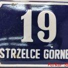Vintage Polish Table Strzelce Górne / # J 1078