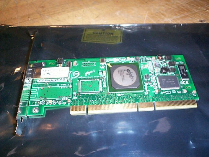 Qlogic  ISP2312  2GB FC HBA PCI-X 133