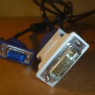 DVI-I Dual Link ~VGA Cable, 5Ft