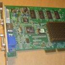 nVidia MX440 DVI-VGA S-Video AGP 64mb