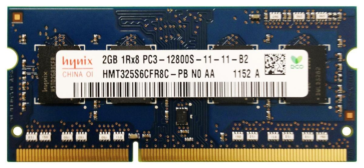 PC3-12800 SoDimm 2gb    Laptop Memory  Free S/H
