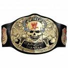 Smoking Skull WWF World Heavyweight Wrestling Championship Belt.SNAKE SKIN BACK