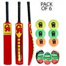 3 x CA Cricket NJ-5000 Tape Ball Bat Fiber Bat 45mm Edge top Soft Ball Bat