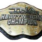 TNA World Heavyweight Championship Wrestling Belt 4mm