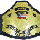 WCW UNITED STATES HEAVYWEIGHT CHAMPIONSHIP BELT 2MM BRASS ADULT SIZE REPLICA