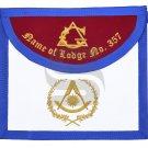 Masonic APRON - The Eastern Light - Past Master Masonic APRON - Aprons & Regalia