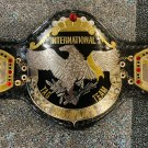 NWA INTERNATIONAL TAG TEAM CHAMPIONSHIP WRESTLING REPLICA BELT