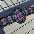 ECW World Heavyweight Wrestling championship Belt 4mm 6lb Brass Replica