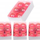 24 Pink Leather CRICKET Balls,4piece, Premium Quality Match Ball Free Shipping