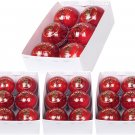 Test Crown Red Cricket Ball 4piece 156g Genuine Leather, Match Ball (Pack of 24)