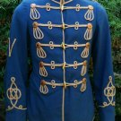 Imperial German Hussar Attila tunic uniform Embroidered Military jacket - Size S to 5XL