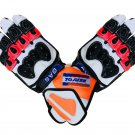 Repsol Honda Gloves MOTORBIKE RACING GLOVES Real Leather Biker Gloves Replica