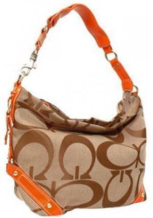 Jacquard Hobo Handbag
