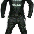 Kawasaki Customized Size Women's Motorcycle Motorbike Biker Racing Leather 1 and 2 Piece Suit