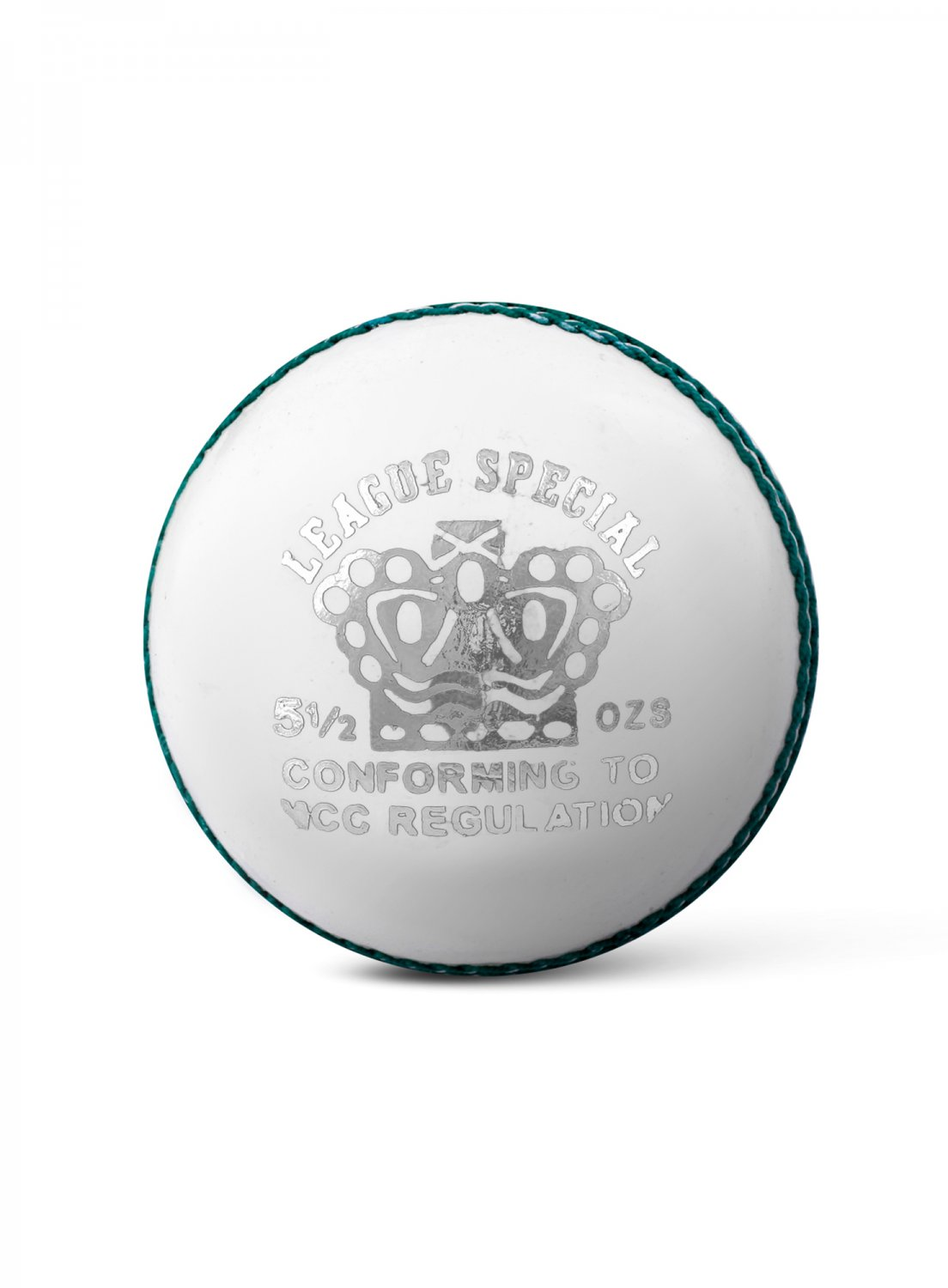 CA League Special White Hard Leather Ball Pack of 12