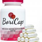 BoriCap Boric Acid Suppositories Contain Only Boric Acid,Gelatin 30Capsule,Maintain Vaginal Health