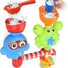 GOODLOGO Bath Toys for Toddlers Kids Babies 2 3 4 Year Old Boys Girls Bathtub