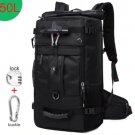 50L Waterproof Travel Backpack Men Women Multifunction 17.3 Laptop Backpacks