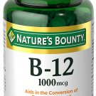Nature's Bounty Vitamin B12 Supplement, Supports Metabolism and Nervous System