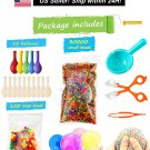 Water Beads Pack (30000 Small Water Beads /150 Large Jumbo Water beads/15 Balloons)Mixed Jelly