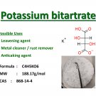 100g Potassium bitartrate (Cream of tartar)