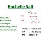 100g Rochelle salt (Potassium sodium tartrate tetrahydrate)