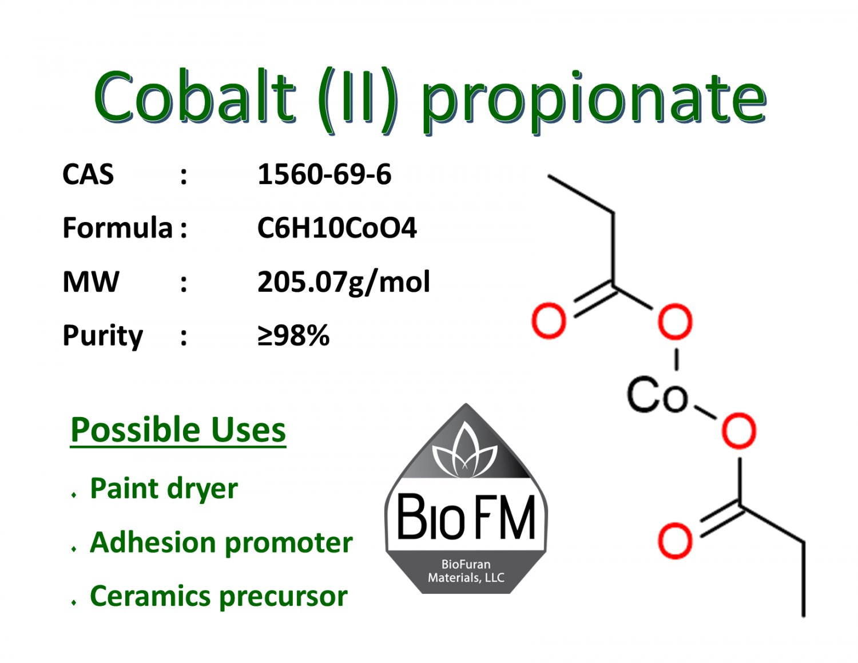 100g Cobalt (II) propionate