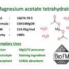 100g Magnesium acetate tetrahydrate