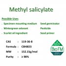 100g Methyl salicylate (Wintergreen oil)